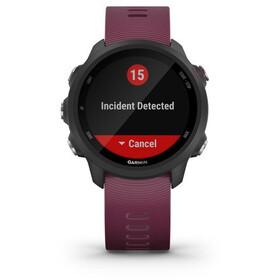 Garmin Forerunner 245 GPS-älykello, black/merlot